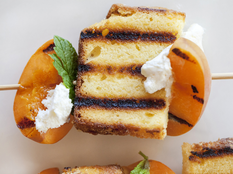 Pound Cake Revisited by Jackie Alpers for the Food Network