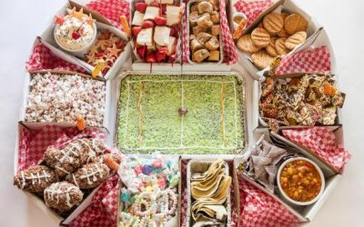 Make a Sweets Stadium Your Game-Day Party Centerpiece