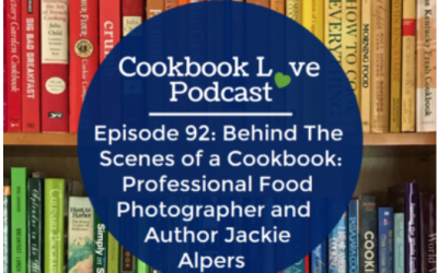 Jackie Alpers Interviewed on the Cookbook Love Podcast With Maggie Green
